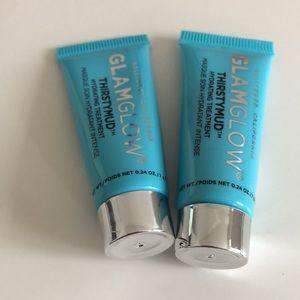 2 GLAMGLOW ThirstyMud Hydrating Treatment 7g each